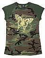 Rothco 8344 Girls Woodland Camo Tee w/Foil Butterfly