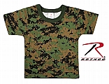 Rothco 6867 Infant Woodland Digital Camo T-Shirt