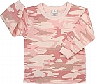 Rothco 6862 Infant Baby Pink Camo Long Sleeve T-Shirt