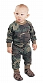 Rothco 6565 Infant Woodland Camo Long Sleeve T-Shirt