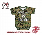Rothco 67054 Infant Woodland Digital Camo 'Crib Recon' 1pc Bodysuit