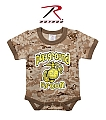 Rothco 69056 Desert Digital Camo 'Playground Recon' 1pc Bodysuit