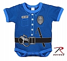 Rothco 67099 Navy Blue Infant Police Uniform 1pc Bodysuit