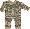 Rothco 67058 Infant Army Digital Camo Long Sleeve & Leg 1pc Bodysuit