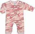 Rothco 67059 Infant Baby Pink Camo Long Sleeve & Leg 1pc Bodysuit