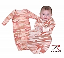 Rothco 67159 Infant Baby Pink Camo 1pc Sleeper
