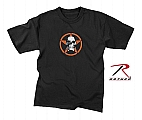Rothco 61398 Kids Skull & Star Black T-Shirt