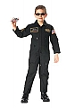 Rothco 7203 Kids Black Top Gun Flight Coverall