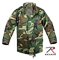 Rothco 7660 Kids Woodland Camo M-65 Field Jacket