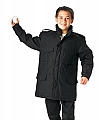 Rothco 9660 Kids Black M-65 Field Jacket