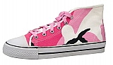 Rothco 5599 Kids Pink Camo Hi-Top Sneakers