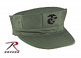 Rothco 5631 O.D. Poly/Cotton 2-Ply Marine Corps Cap