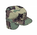 Rothco 5612 G.I. Type Woodland Camo Combat Cap w/Earflaps