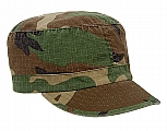 Rothco 1153 Womens Woodland Camo Rip-Stop Vintage Fatigue Hat