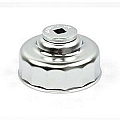 Steelman 95953 Oil Filter Cap Wrench (75mm/15 Flute Chrome)