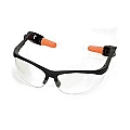 Steelman 96715 Combo Safety Glasses w/Ear Plugs (Clear)