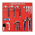 Steelman LTB04-SR-WT Lubrication Board with Tools
