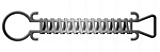 "MEYCO 7 1/2"" STAINLESS STEEL SPRING"
