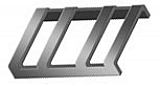 CANTAR/GLI STAINLESS STEEL BUCKLE