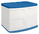 HORIZONTAL UTILITY SHED W/ BLUE LID  (TRUCK)