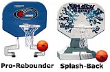 SPLASHBACK POOLSIDE BASKETBALL GAME