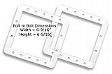 Above Ground Skimmer Gasket Set (2)
