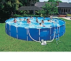 Intex Metal Frame Pool 24'X52""