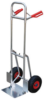 Vestil DHHT-250A-FD-PN Fold-Down Aluminum Hand Truck, Pneumatic Wheels, Capacity (lbs): 250 at Sears.com