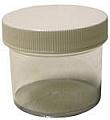 Vestil JAR-1 Plastic Jar, 1 Ounce