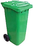 Vestil TH-95-GRN  Refuse Container