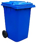 Vestil TH-64-BLU  Refuse Container