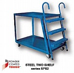 Vestil SPS3-2848  3-Shelf Heavy Duty Extruded Ste