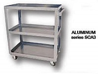 Vestil SCA2-2236  2-Shelf Aluminum Construction S