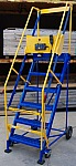 Vestil LAD-PPT-6-20-G  Rolling Ladder with power