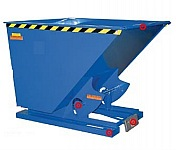 Vestil D-75-LD  70º Self Dumping Hoppers with Bum
