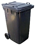 Vestil TH-32-GY Refuse Container